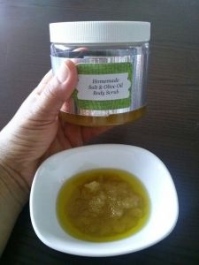 Olive Oil Moisture Body Scrub
